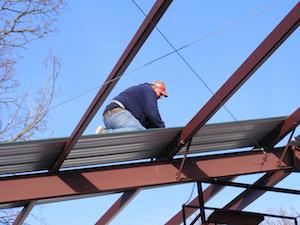 Jute Dämmung Dach