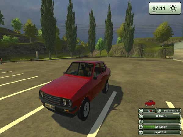 Farming Simulator 2013 Mods Dacia-sport-1410-v-1.sfst2