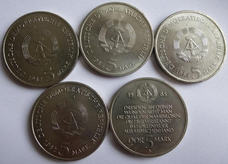 Wertschätzung Ddr Gedenkmünzen 1971