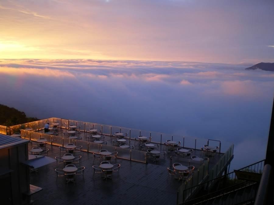 Taras ponad chmurami 8
