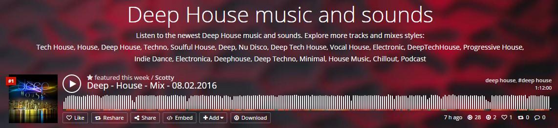 Produzententhread selbstgemachte musik tracks mixes for List of deep house music