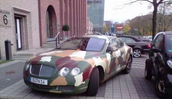Auto generała 2