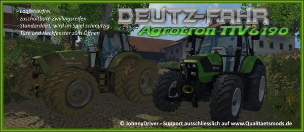 Deutz Fahr Agrotron 6190 TTV v1.0