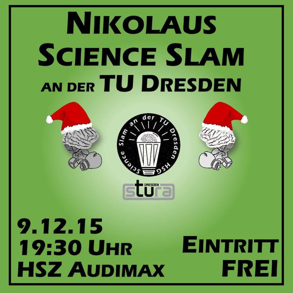 3. Science Slam an der TU Dresden