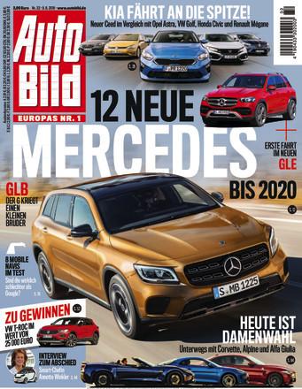 :  Auto Bild Magazin August No 32 2018
