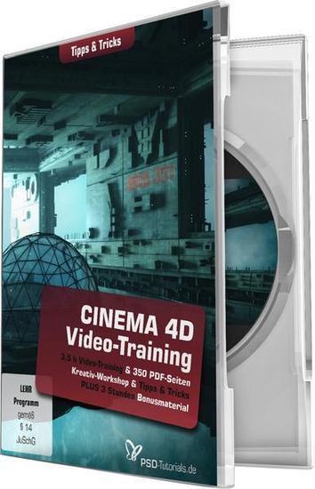 psd tutorials cinema 4d video training tipps und tricks german blziso. Black Bedroom Furniture Sets. Home Design Ideas