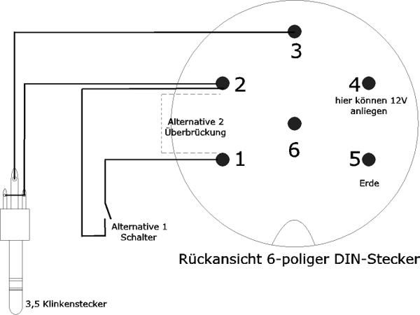 Ziemlich Anhänger 6 Polige Verkabelung Galerie - Elektrische ...