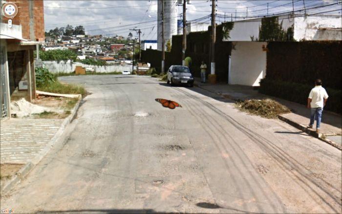 Nietypowe zdjęcia z Google Street View 46