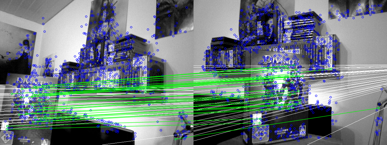 C Opencv Findfundamentalmat Very Unstable And