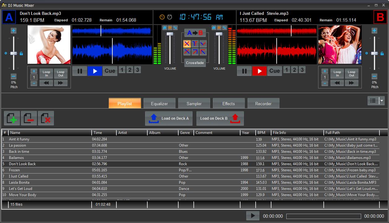 Program4pc dj music mixer v3 8 winall incl keygen neox nbs