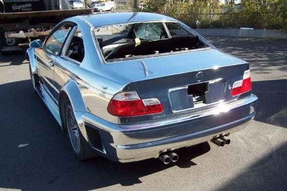 Chromowane BMW M3 4