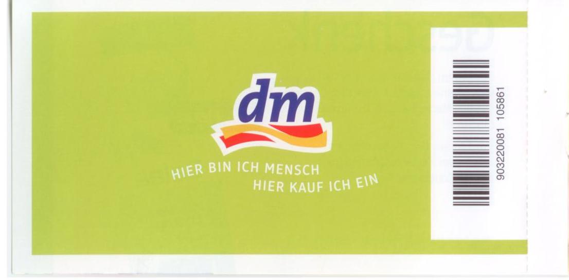 Dm coupons gratis