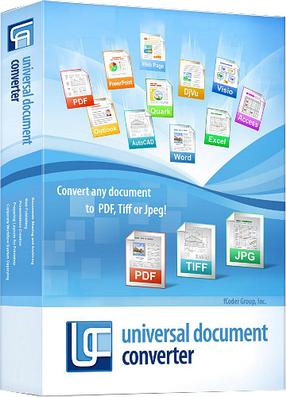 Universal  Document Converter 6.8.1712.15160 Multilingual inkl.German