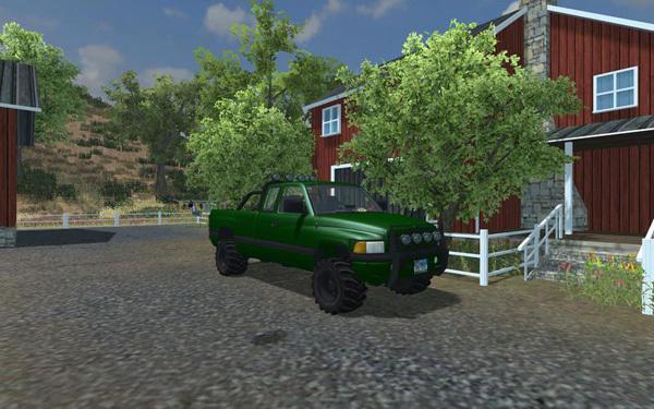 Dodge Ram 4x4 Forest v1.0
