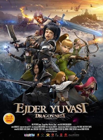 Ejder Yuvası: Savaşçıların Şafağı – Dragon Nest: Warriors Dawn 2014 HDRip XviD Türkçe Dublaj – Tek Link