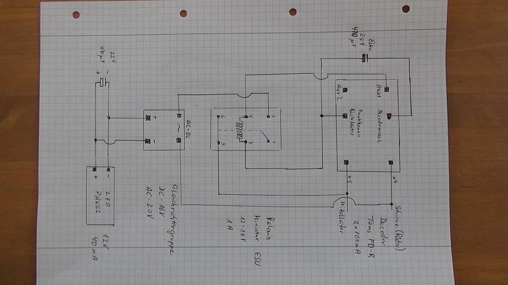 Schaltplan für Zugbeleuchtung ... - Stummis Modellbahnforum