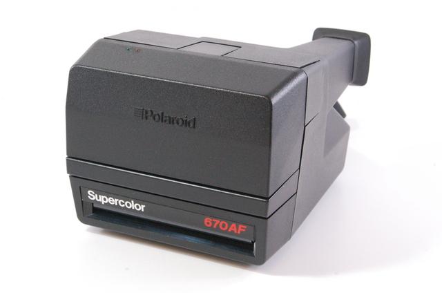 polaroid supercolor 670 af instant camera for 600 film tested ebay. Black Bedroom Furniture Sets. Home Design Ideas