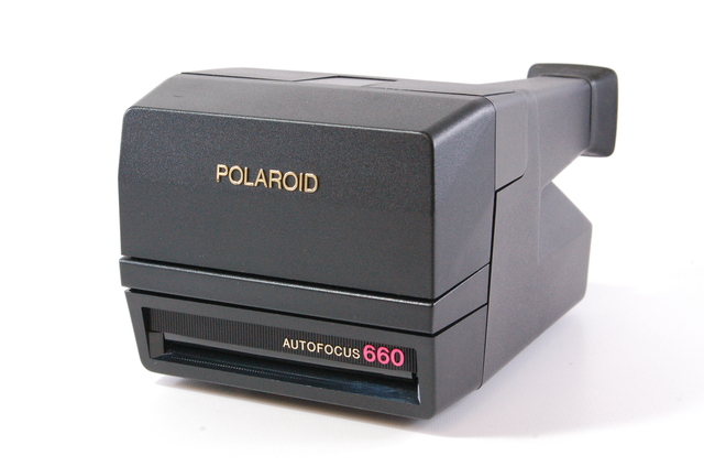polaroid autofocus 660 instant camera for 600 film tested ebay. Black Bedroom Furniture Sets. Home Design Ideas