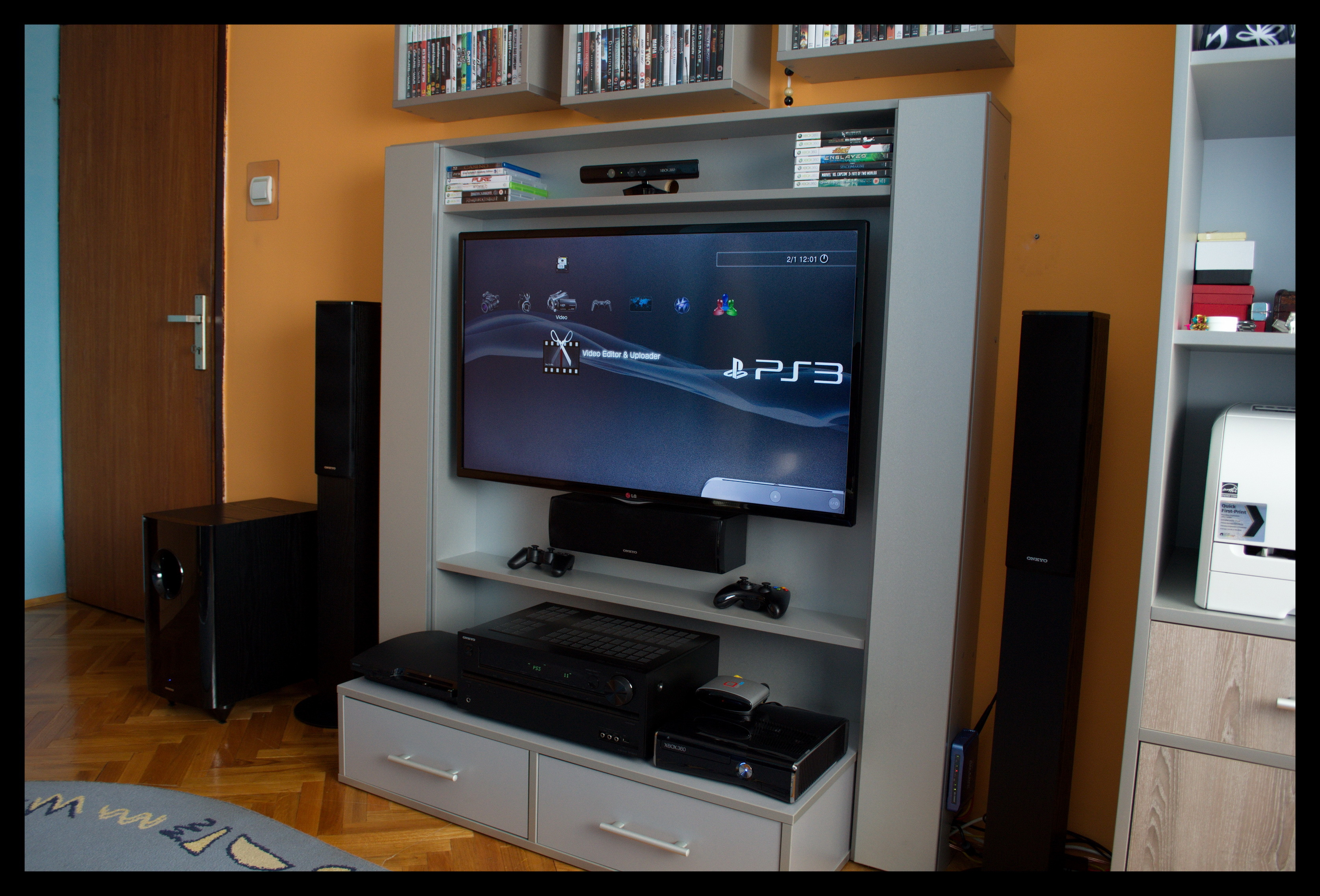 Show us your gaming setup 2014 edition neogaf for Small room 7 1 setup