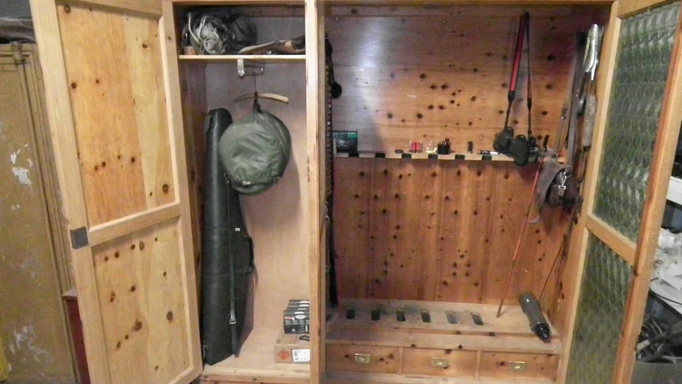 Neuer Waffenschrank Jagdausrustung Das Jagerforum