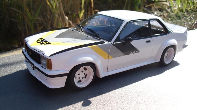 Opel ascona b black jack