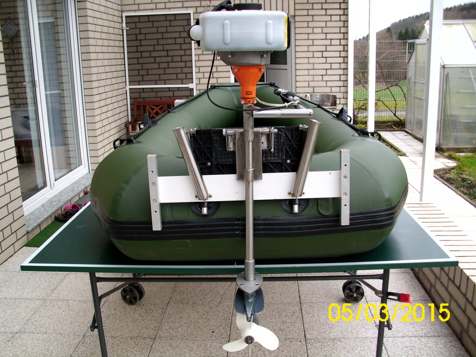 как сделать мотор для лодки и фото