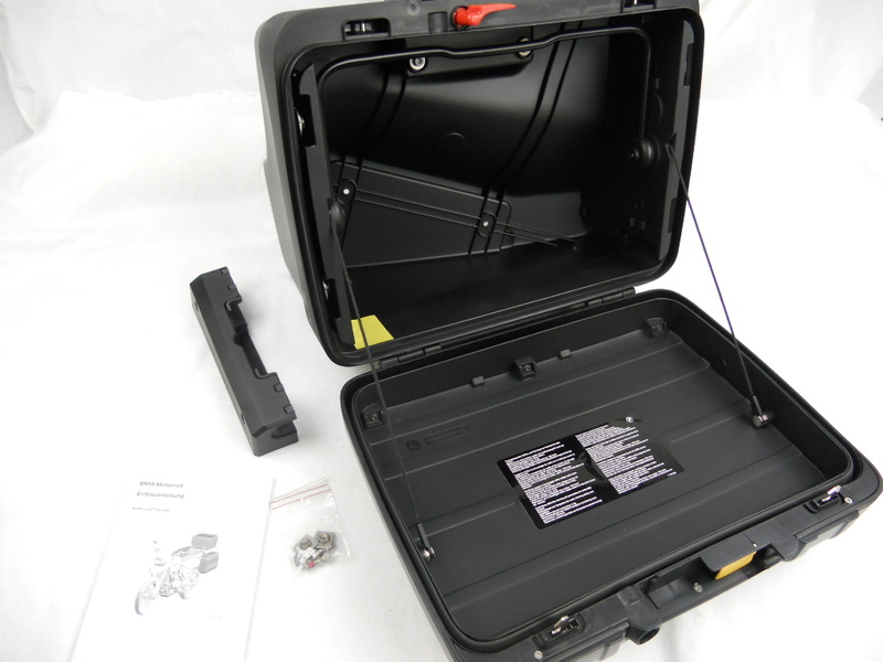bmw motorrad koffer set neu f 700gs f 650gs f 800gs. Black Bedroom Furniture Sets. Home Design Ideas