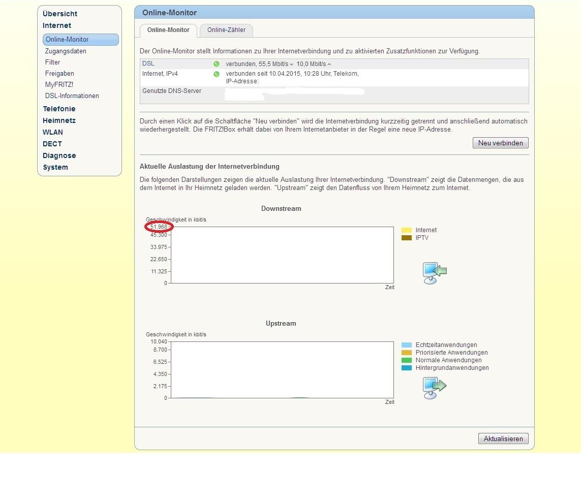 VDSL 100, leider nur etwa 60 -65 Mbit/s im Download - Seite 9 ...