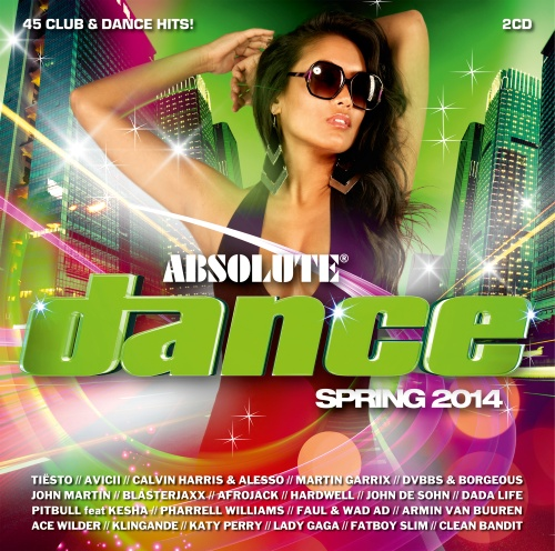 ABSOLUTE DANCE SPRING (2CD) 2014 [ ALBUM ORIGINAL ]