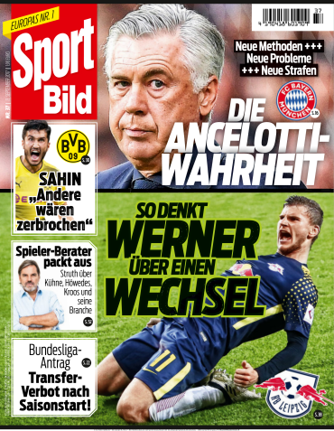 : Sport  Bild Magazin No 37 vom 13 September 2017