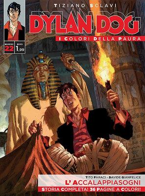 Dylan Dog i colori della paura 22 - L'Accalappiasogni (2015)