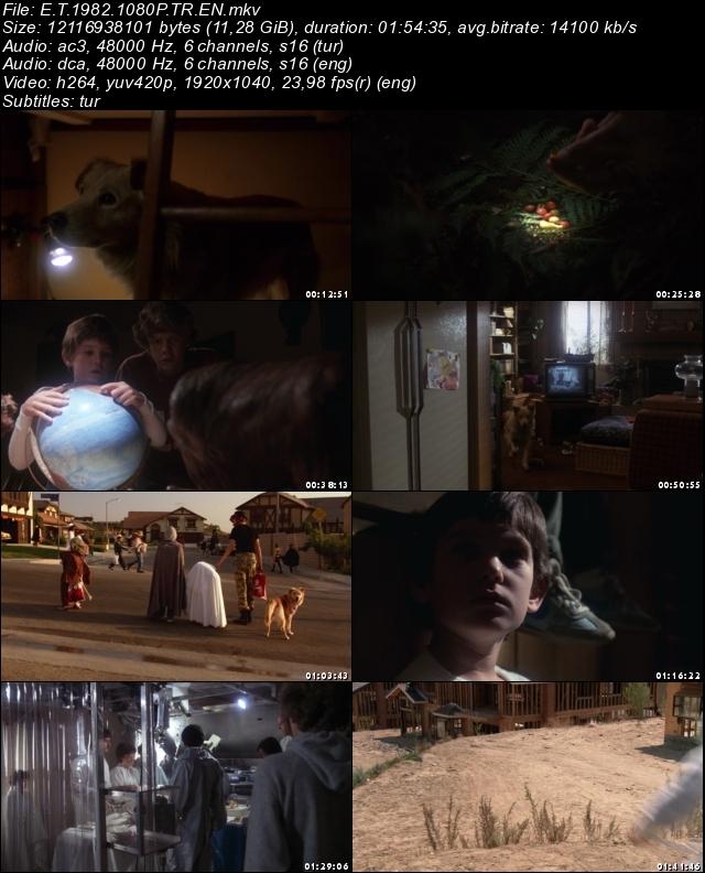 E.T. (1982) 1080p Film indir