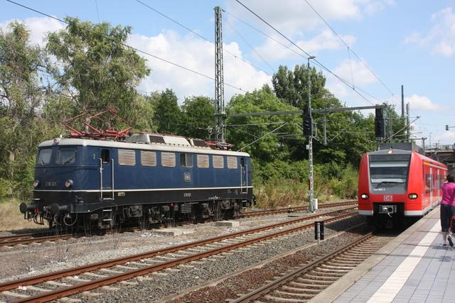 E10 121 + 424 022-2 Hannover-Nordstadt