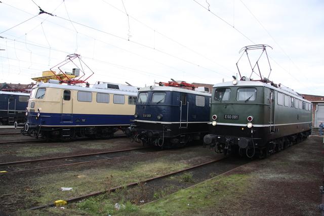 E 10 1239 + E 41 001 + E 50 091 BW Osnabrück