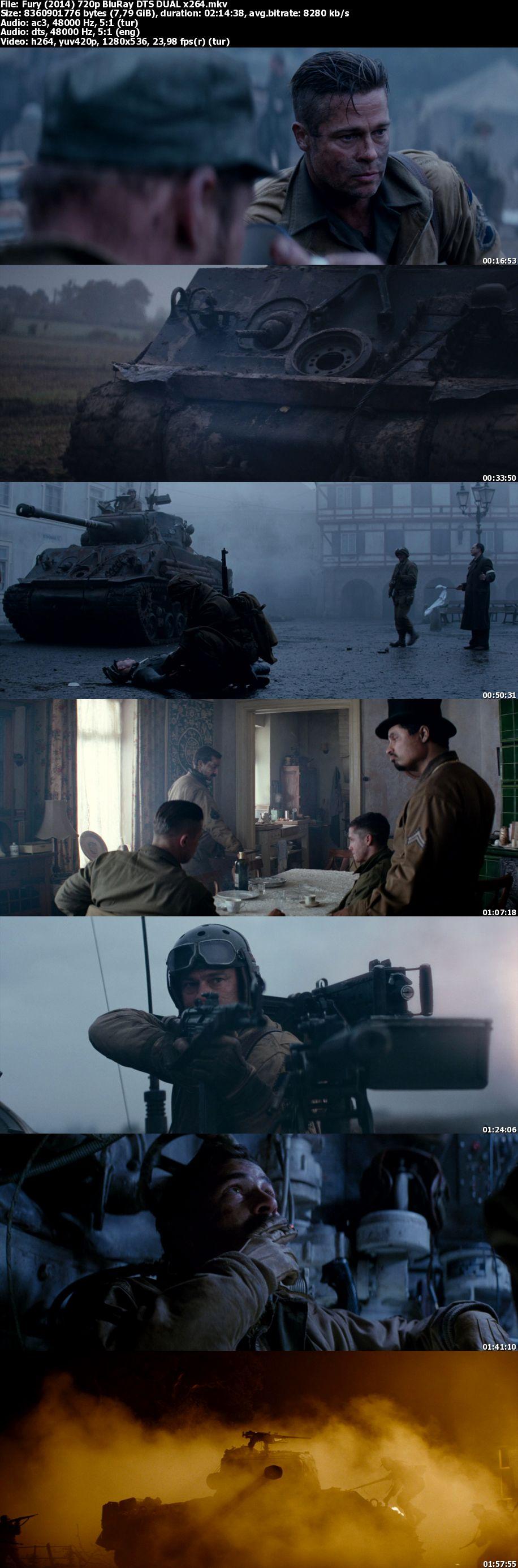 Fury film indir