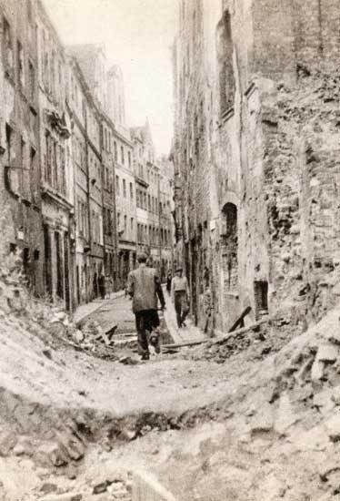 Wrocław  1945 Zniszczenia 126