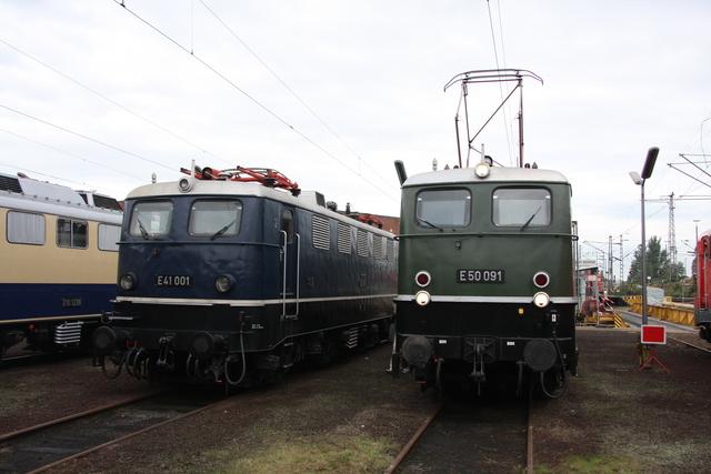 E 41 001 + E 50 091 BW Osnabrück