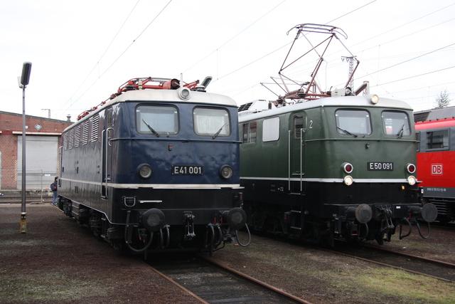 E 41 001 + E50 091 BW Osnabrück