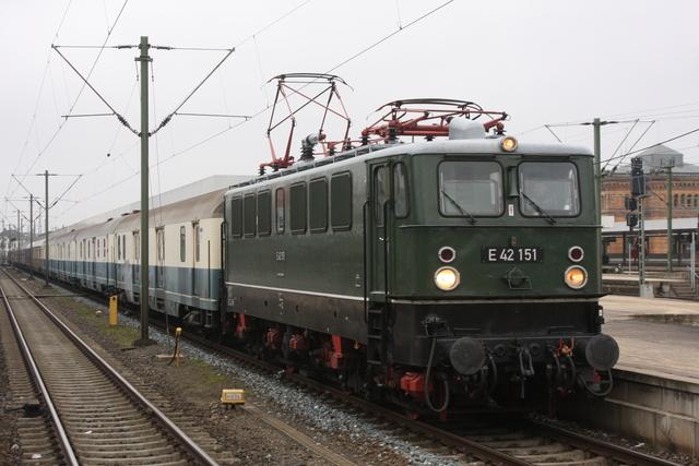 E42 151 Hannover Hbf