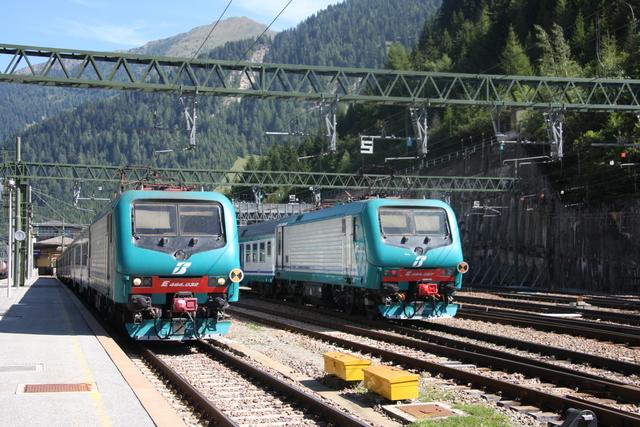 E464.032 + E 464.057 Brennero-Brenner