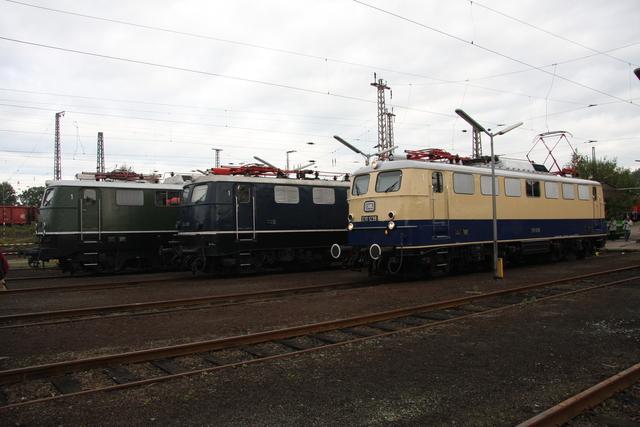 E 50 091 + E 41 001 + E 10 1239 BW Osnabrück