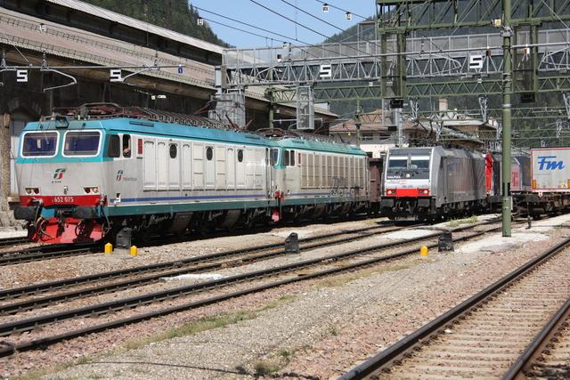 E 652 075 + E 652 151 Brennero Brenner