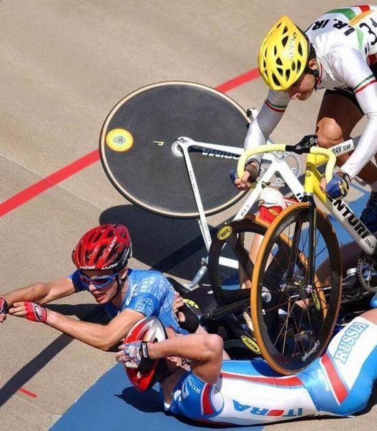 Wypadki na rowerach 9