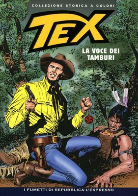 Tex Willer Collezione Storica a Colori 196 - La Voce dei Tamburi (2010)