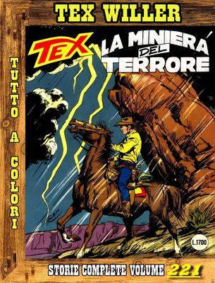 Tex Willer – Storie Complete N. 221 - La Miniera del Terrore