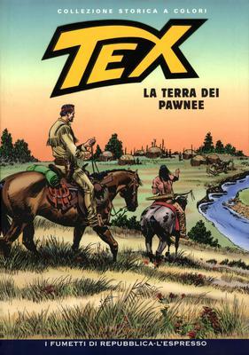 Tex Willer Collezione Storica a Colori 207 - La Terra dei Pawnee (2011)