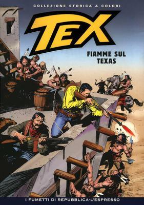 Tex Willer Collezione Storica a Colori 198 - Fiamme sul Texas (2010)