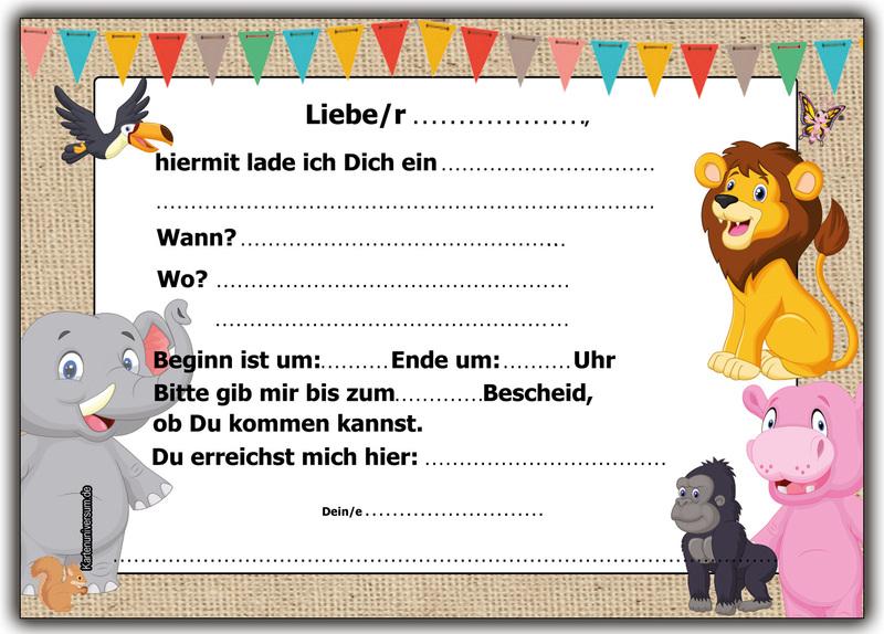 einladung kindergeburtstag einladungskarten kinder geburtstag 12, Einladung