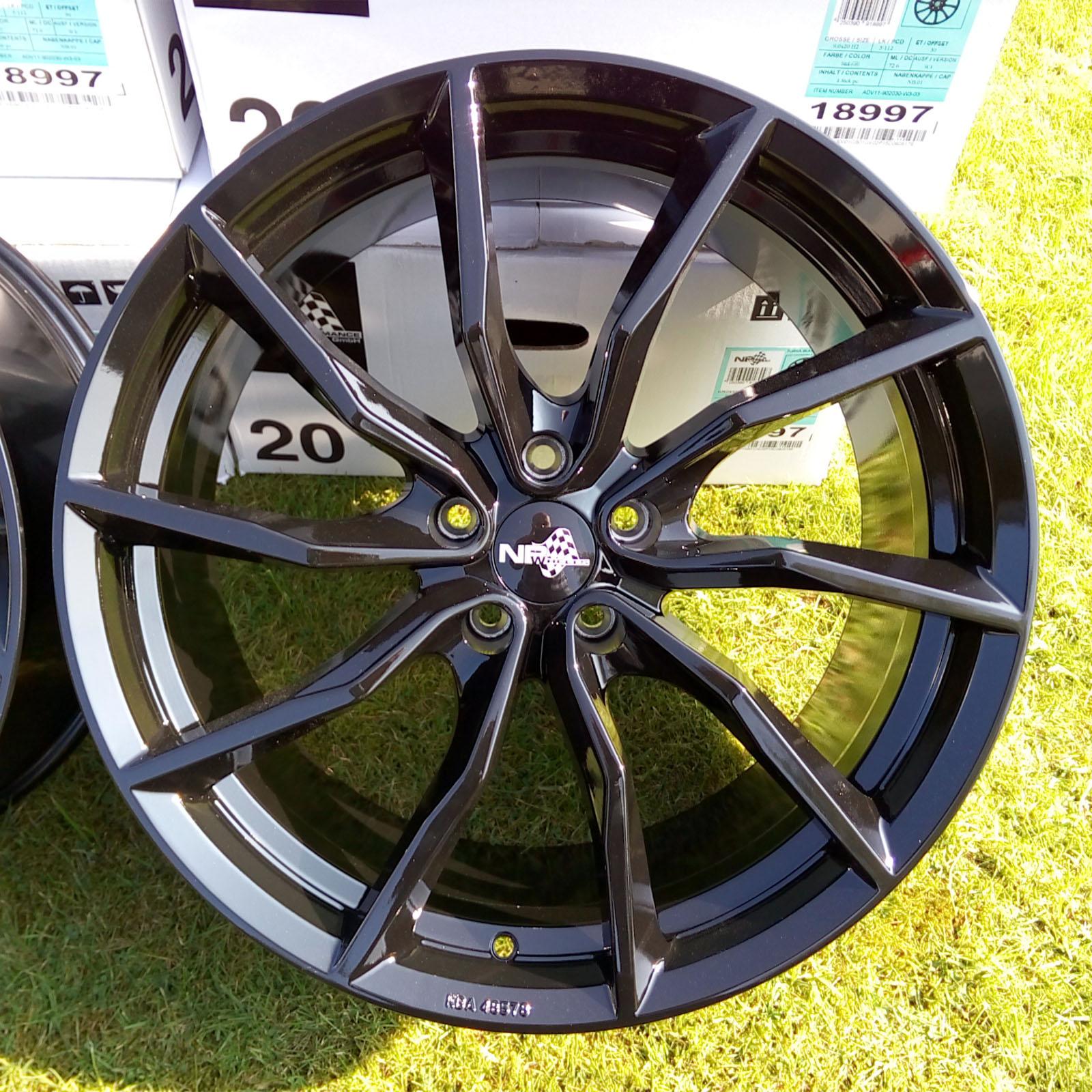 18 zoll abe alufelgen felgen nb wheels nb1 turbine f r. Black Bedroom Furniture Sets. Home Design Ideas