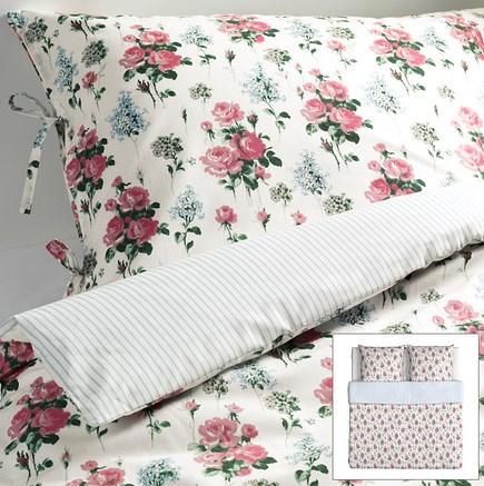 ikea emmie s t romantik rosen rosali wende bettw sche set. Black Bedroom Furniture Sets. Home Design Ideas